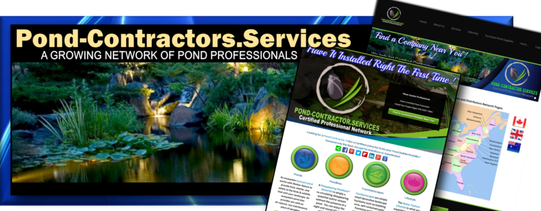 Pond Maintenance, Cleaning & Repair Contractor